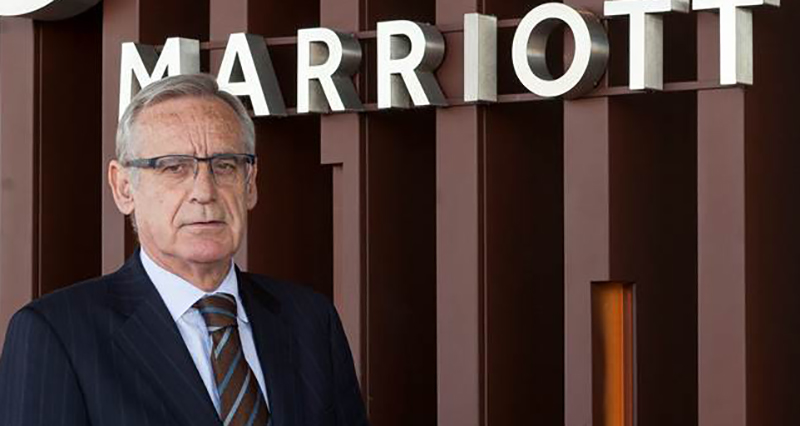 Pablo Vila es actualmente el director del Hotel Madrid Marriott Auditorium.
