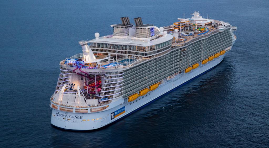 El 'Harmony of the Seas' regresará a Europa con itinerarios de siete noches por el Mediterráneo Occidental.